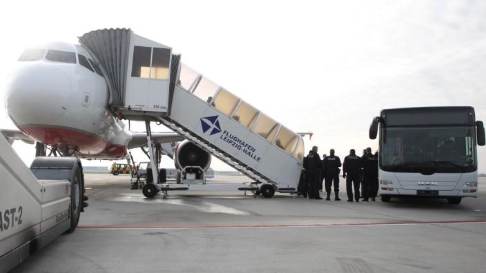 Abschiebungen abgelehnter Asylbewerber in Sachsen