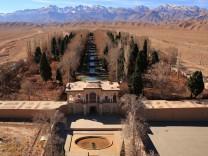 Persisches Qanat-Bewässerungssystem im Iran