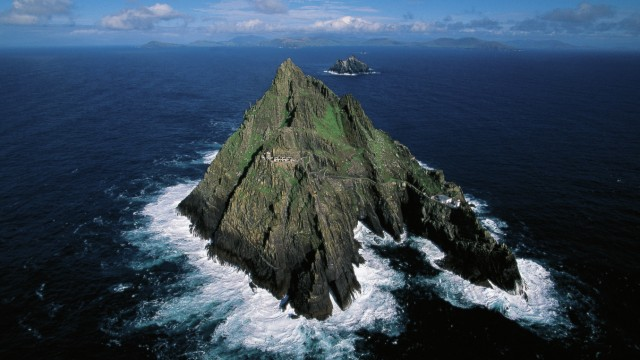 Small island of Skellig Michael