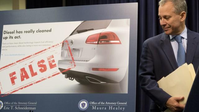 Attorney General Eric Schneiderman Volkswagen VW