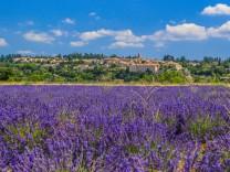 Region Sault, Provence Frankreich