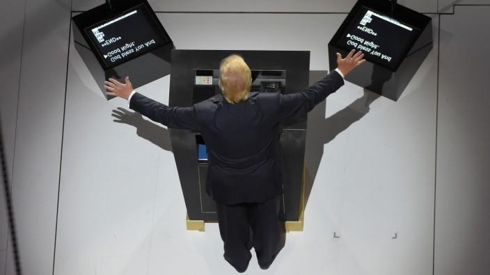 Donald Trump bei seiner Rede auf derRepublican National Convention in Cleveland