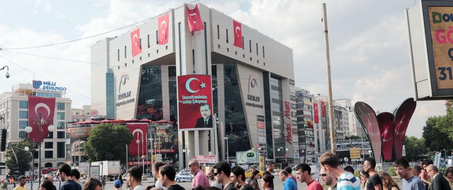Recep Tayyip Erdoğan Nach Putschversuch