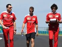 Sebastian Vettel Scuderia Ferrari formula 1 GP Ungarn in Budapest 22 07 2016 Photo mspb Jerry An