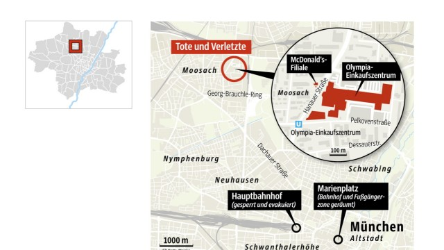 Terror in München Schießerei im OEZ und Großeinsatz