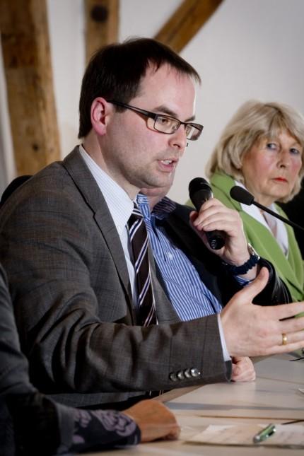 Olching: VHS-Podiumsgespraech der Buergermeister-Kandidaten