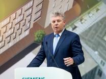 Eröffnung der Siemens-Zentrale in München, 2016
