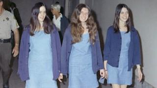 Charles-Manson-Jüngerinnen: Susan Atkins, Patricia Krenwinkel und Leslie Van Houten, 1970