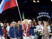 London 2012 - Eröffnungsfeier Team Russland