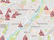 Baustellen München Karte