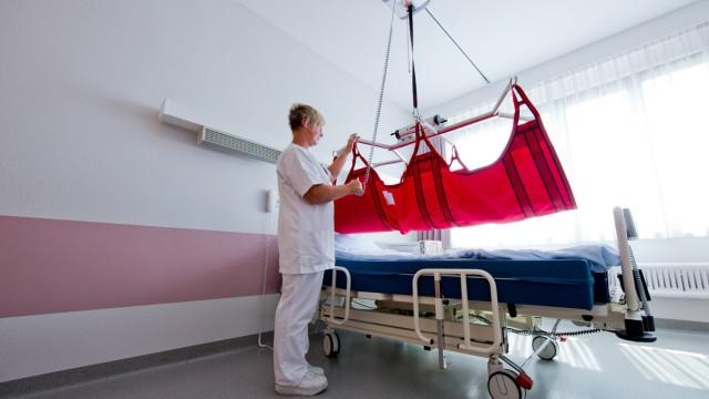 Schwerlastzimmer in Krankenhaus