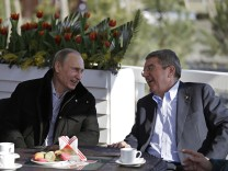 Vladimir Putin, Thomas Bach