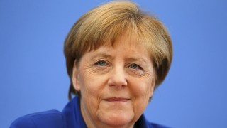 German Chancellor Merkel addresses a news conference in Berlin
