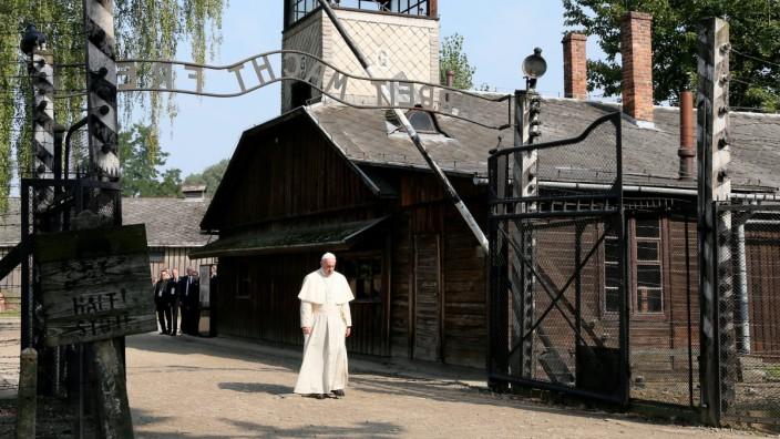 Papst Besucht Früheres Kz Auschwitz Panorama Süddeutschede