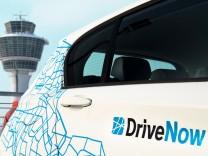 Ein BMW 1er des Carsharing-Anbieters DriveNow