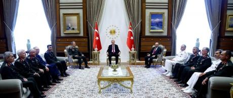Recep Tayyip Erdogan, Hulusi Akar
