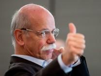 Dieter Zetsche Daimler Zahlen Q2