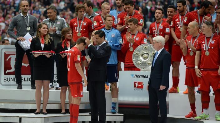 Fussball 1.Bundesliga, FC Bayern Muenchen - FSV Mainz 05