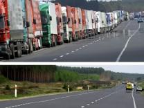 Kein LKW-Stau mehr in Swiecko