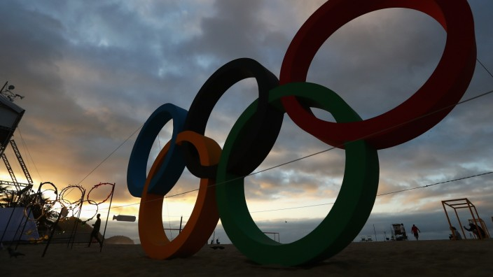 Olympics - Previews - Day - 5; Olympia