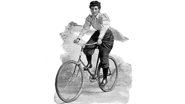 Reisepioniere Reise-Pionierin Annie Londonderry