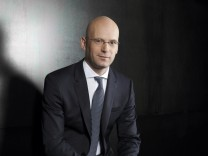 Undated handout picture of German fashion house Hugo Boss Chief Financial Officer Mark Langer