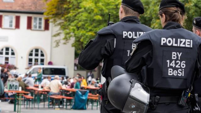 Demonstration in Bamberg gegen Aufnahmeeinrichtung
