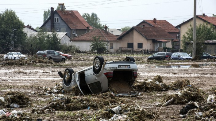 At least 15 people have died in heavy rain storm that hit Skopje