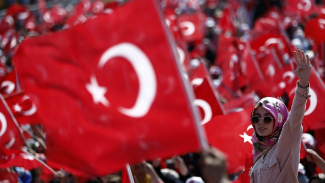 Aftermath of an attempted coup d'etat in Turkey