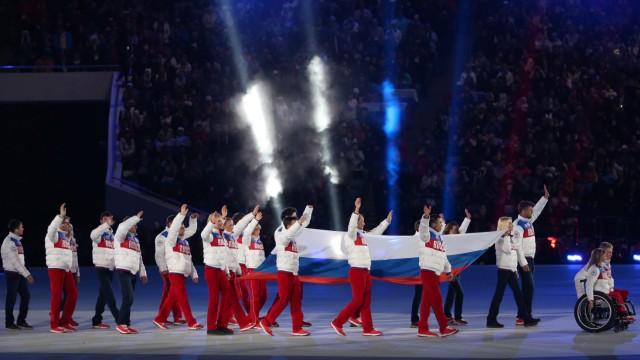 Paralympics 2014 - Team Russland