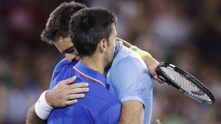 Juan Martin del Potro, Novak Djokovic