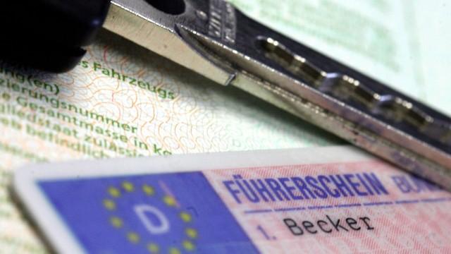 Führerschein weg statt Geldstrafe