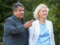 Sommerreise des SPD-Bundesvorsitzenden Gabriel, Familienministerin Schwesig