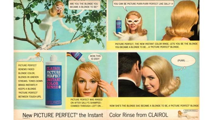 1960s USA Clairol Magazine Advert