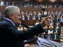 Binali Yildirim, Premierminister Türkei