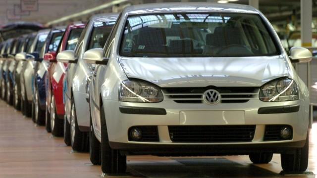 VW Golf V Produktion