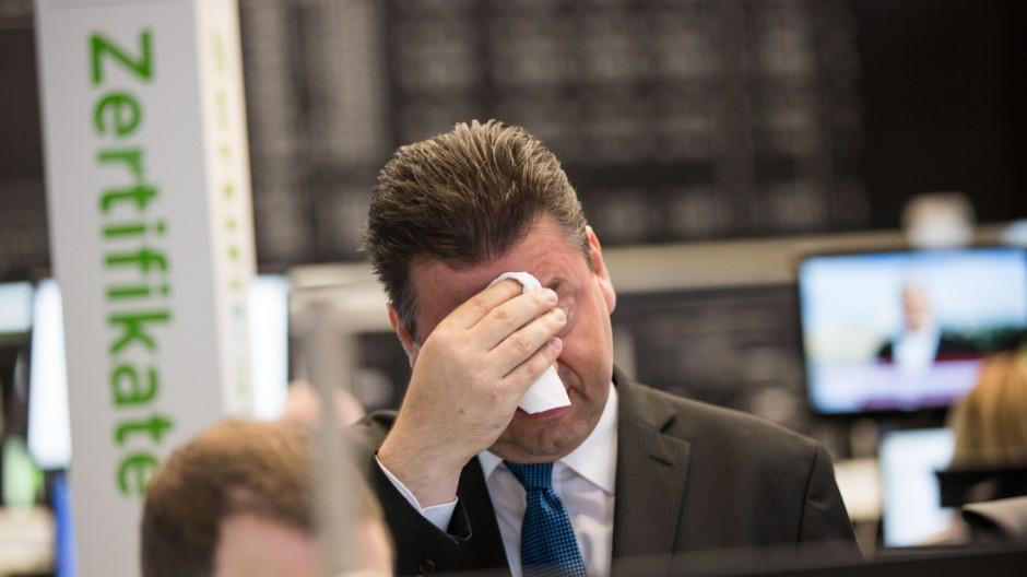 Börse in Frankfurt/Main nach Brexit-Abstimmung