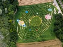Sonnensystem als Labyrinth