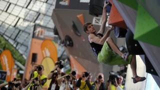 Regionalsport Boulder-Weltcup in München