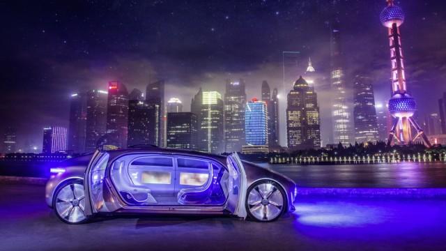 Mercedes F 015 Luxury in Motion in Shanghai