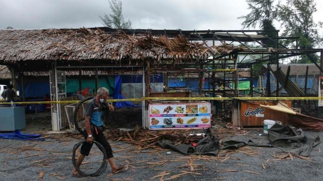 Thailand Nach den Attacken