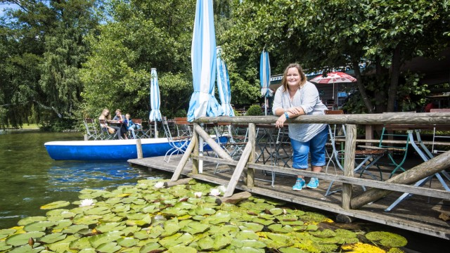 Weßling Kiosk am Weßlinger See