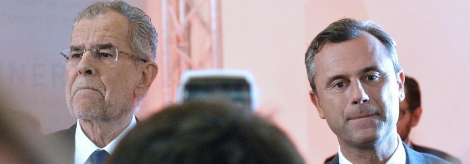 Wahl in Österreich Bundespräsidentenwahl