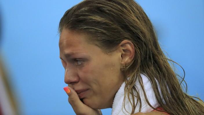 Swimming - Women's 100m Breaststroke Final