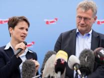AfD - Frauke Petry und Jörg Meuthen