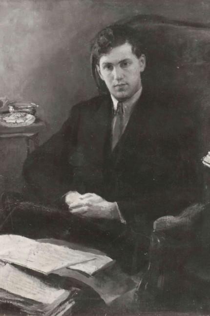 Pianist Wladimir Wladimirowitsch Sofronizki (1928),
