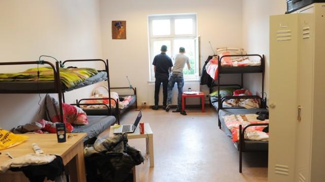 Unterkunft für minderjährige Flüchtlinge in München, 2015