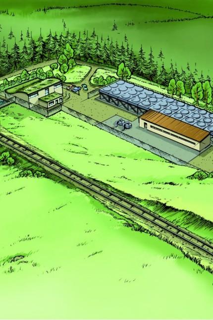 Plan Geothermie Projekt Bernried