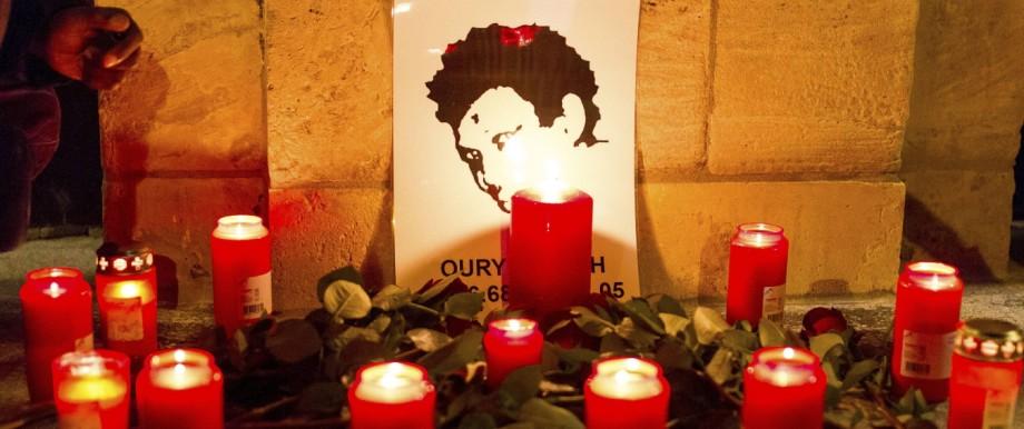 Am 7 Januar vor neun Jahren starb Oury Jalloh bei einem Brand in einer Dessauer Polizeizelle Die U