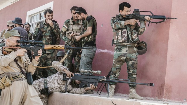 Pesshmerga operation to recapture IS held villages southeast of M